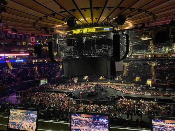 Madison Square Garden, section: 212, row: 2, seat: 14