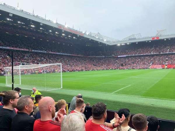 Old Trafford, section: W104, row: FF, seat: 82