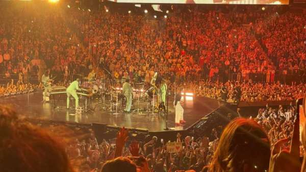 Madison Square Garden, section: 116, row: 11, seat: 16