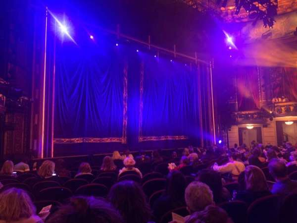 Brooks Atkinson Theatre, section: Orchestra L, row: L, seat: 15