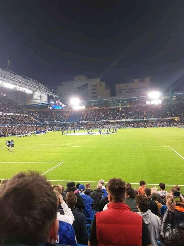 Stamford Bridge, section: matthew harding lower, row: m, seat: 45