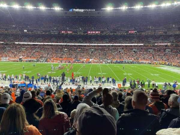 FirstEnergy Stadium, section: 110, row: 23, seat: 7