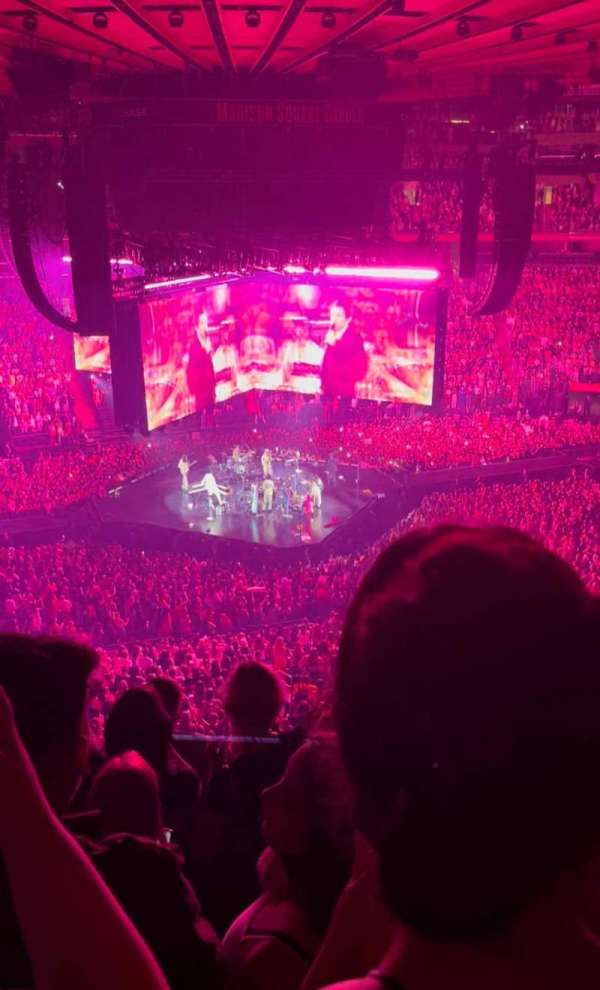 Madison Square Garden, section: 223, row: 9, seat: 6
