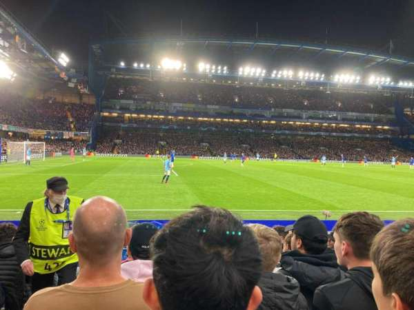 Stamford Bridge, section: East Stand Lower 4, row: M, seat: 27