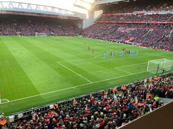 Anfield, section: 227, row: 1, seat: 182