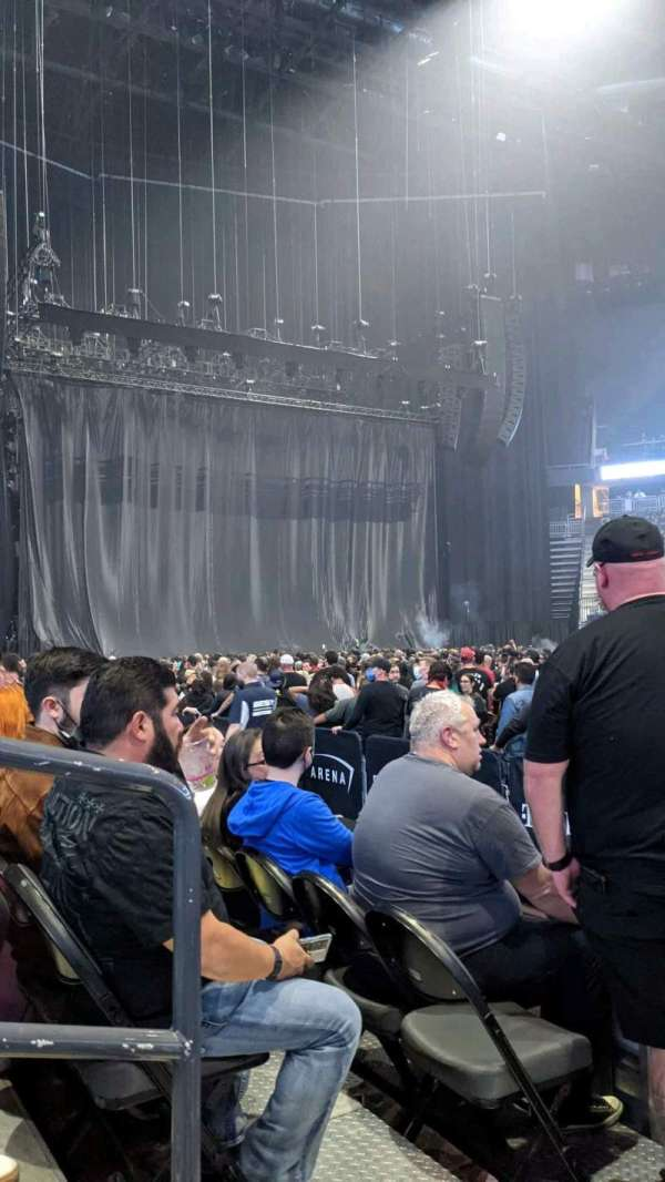 T-Mobile Arena, section: 6, row: C, seat: 2