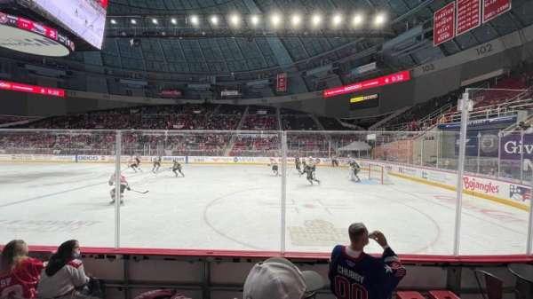 Bojangles' Coliseum, section: 125, row: B, seat: 2
