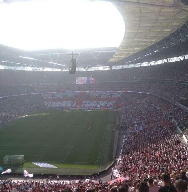 Wembley Stadium, section: 511, row: 22, seat: 307