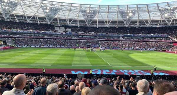 London Stadium, section: 135, row: 27, seat: 281