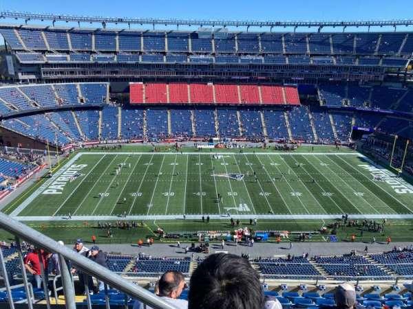 Gillette Stadium, section: 332, row: 8, seat: 25
