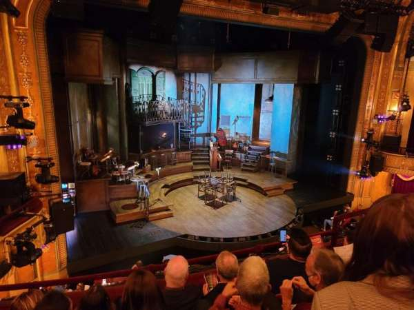 Walter Kerr Theatre, section: Balcony L, row: D, seat: 11