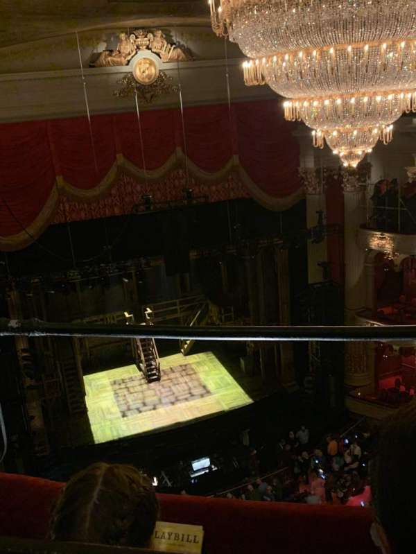Academy of Music, section: F, row: B, seat: 9