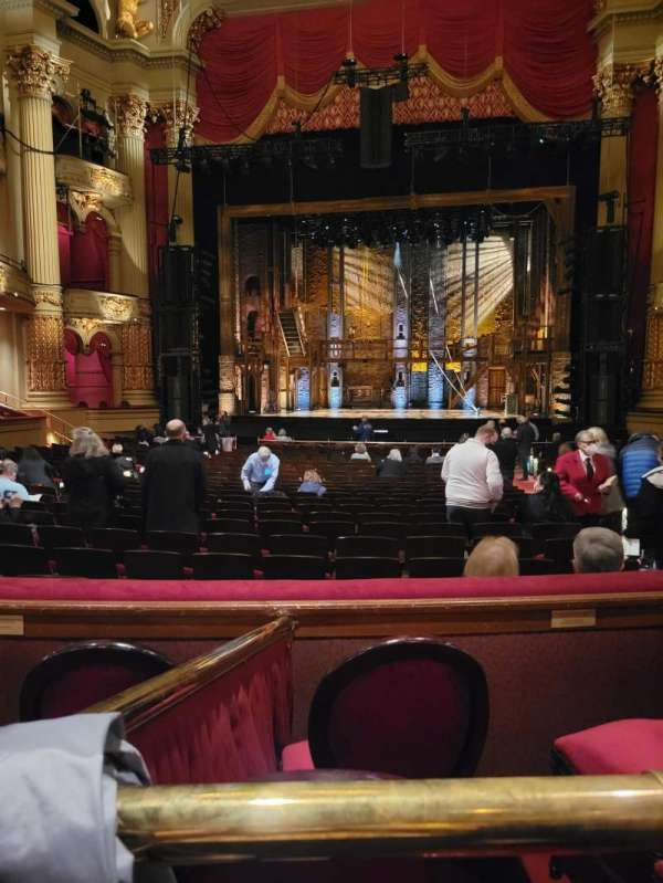 Academy of Music, section: E, row: T, seat: 103