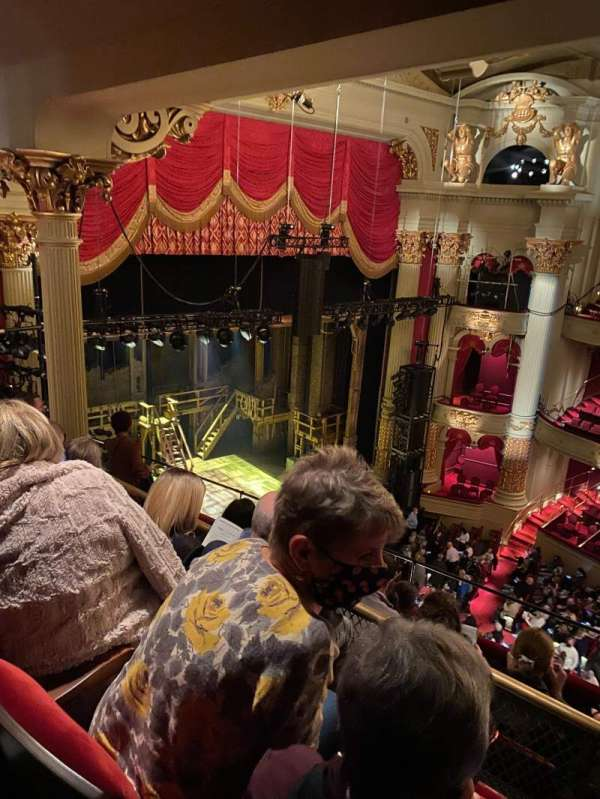 Academy of Music, section: H, row: E, seat: 51