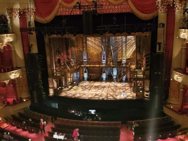 Academy of Music, section: Family circle D, row: A, seat: 2