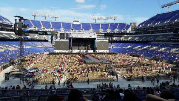 M&T Bank Stadium, section: 141, row: 34, seat: 20