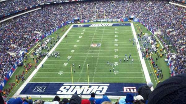 MetLife Stadium, section: 325, row: 14, seat: 11