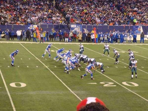 Old Giants Stadium, section: 134, row: 7