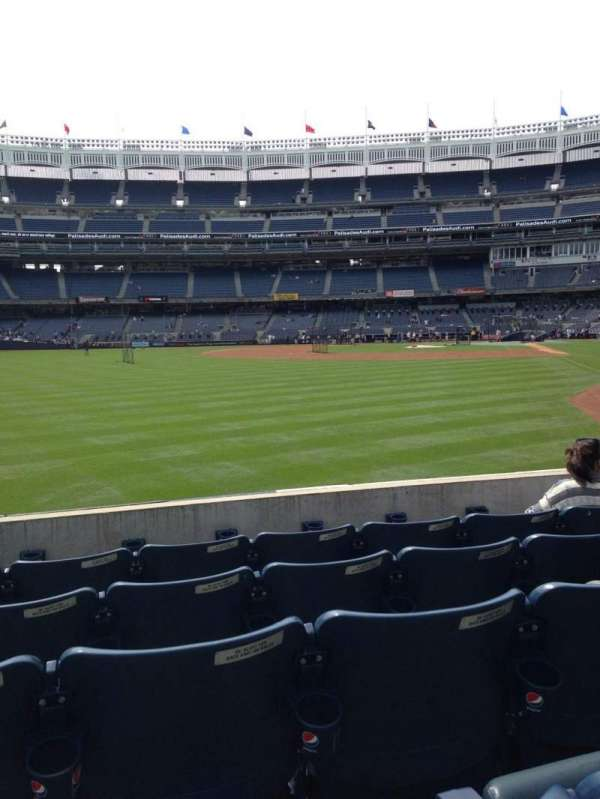 Yankee Stadium, section: 133, row: 15, seat: 11