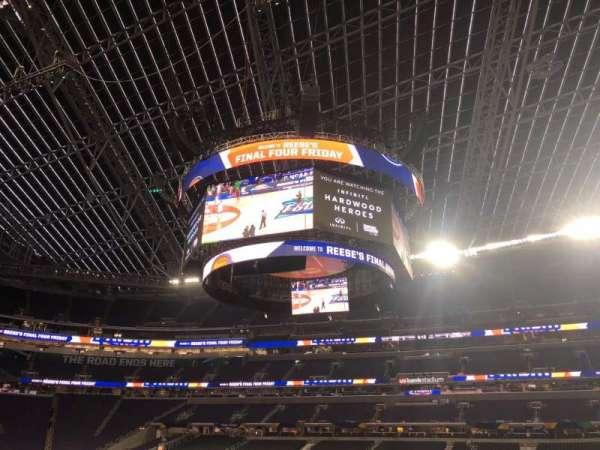 U.S. Bank Stadium, section: V2, row: AA, seat: 3