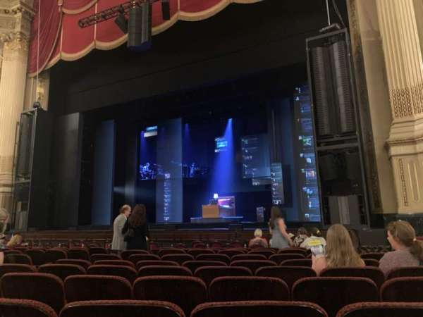 Citizens Bank Opera House, section: Orchestra RC, row: F, seat: 14