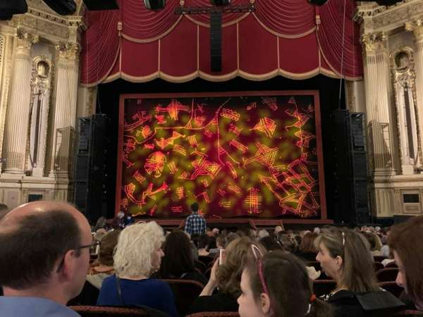 Citizens Bank Opera House, section: Orchestra C, row: N, seat: 117