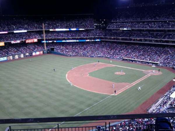 Citizens Bank Park, section: 432, row: 1, seat: 20