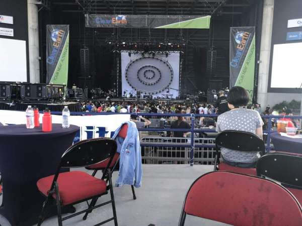 MidFlorida Credit Union Amphitheatre, section: VIP, row: Table 5, seat: 1