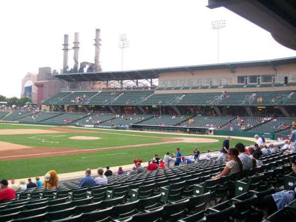 Victory Field, section: 106, row: U, seat: 9