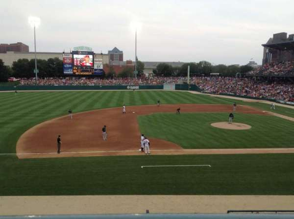 Victory Field, section: 205, row: A, seat: 8