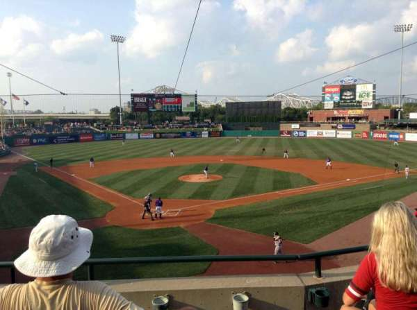 Louisville Slugger Field, section: 214, row: C, seat: 6