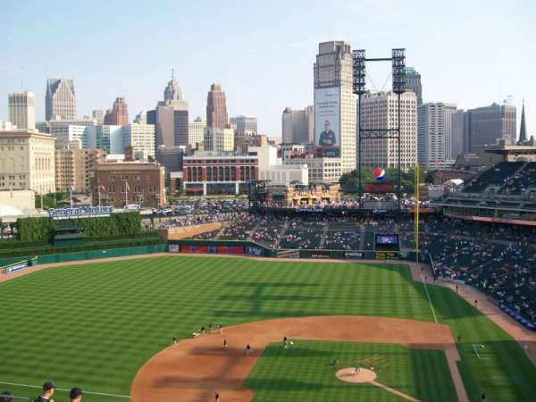 Comerica Park, section: 332, row: 11, seat: 17