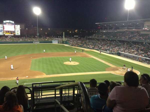 Victory Field, section: 205, row: K, seat: 2
