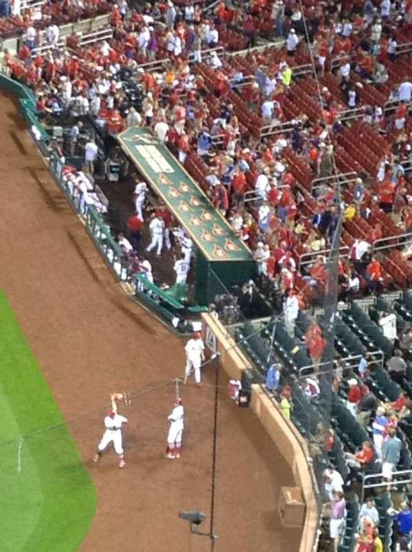 Busch Stadium, section: 354, row: 3, seat: 6