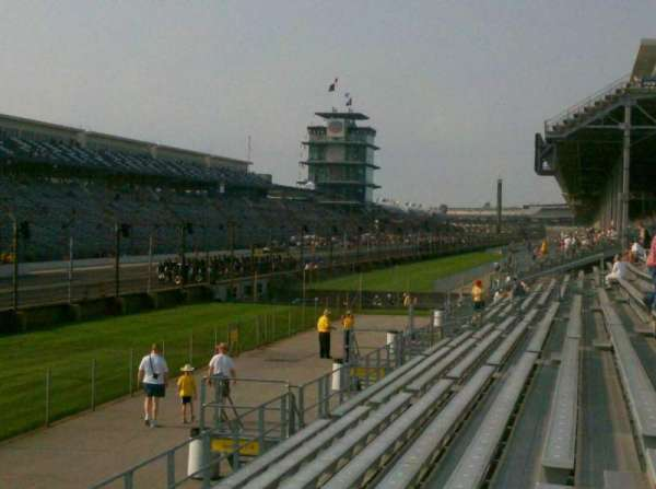 Indianapolis Motor Speedway, section: Paddocks 11, row: H, seat: 10