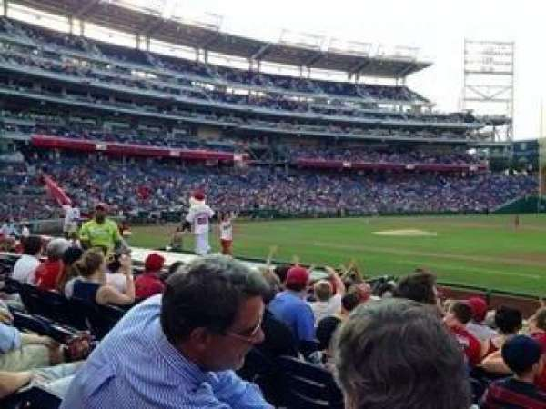 Nationals Park, section: 131, row: K, seat: 7