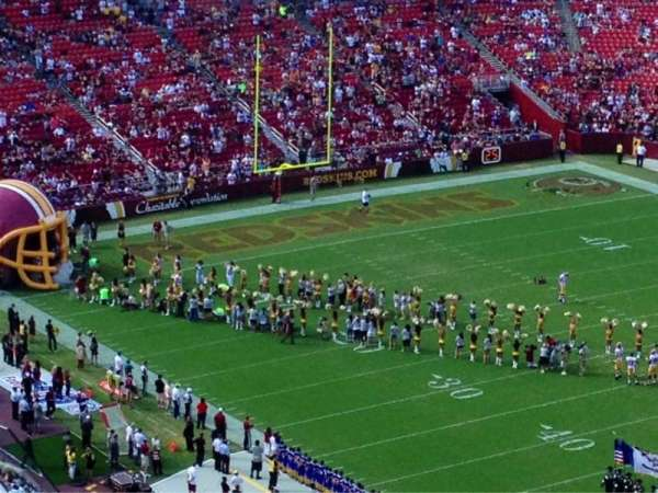 FedEx Field, section: 449, row: 14, seat: 8