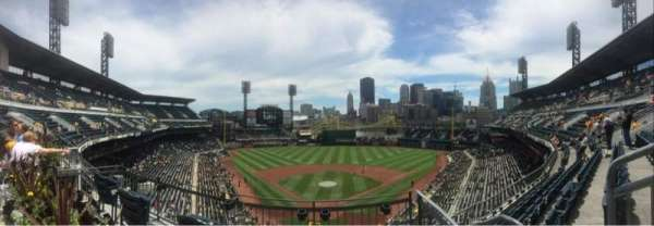PNC Park, section: 216, row: A, seat: 6