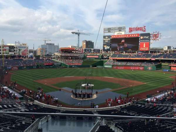 Nationals Park, section: 214, row: B, seat: 10