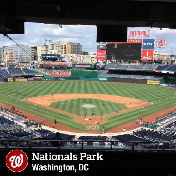 Nationals Park, section: Lincoln Suite 20, row: STAND, seat: PASS