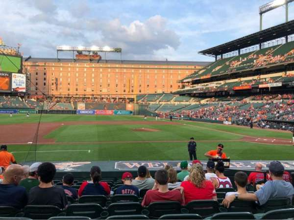 Oriole Park at Camden Yards, section: 52, row: 10, seat: 5