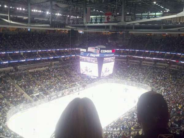 PPG Paints Arena, section: 224, row: n, seat: 13