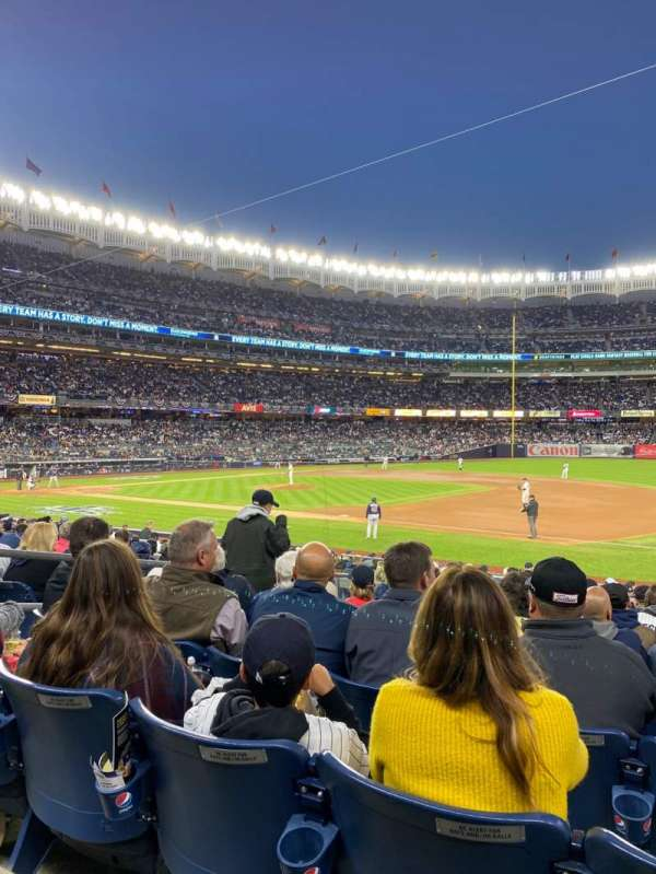 Yankee Stadium, section: 114a, row: 9, seat: 9