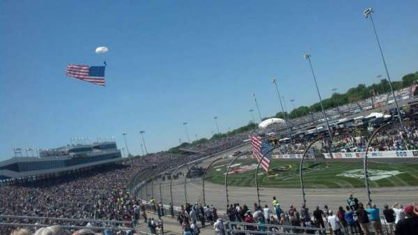 Richmond International Raceway, section: Veranda B, row: 6, seat: 1