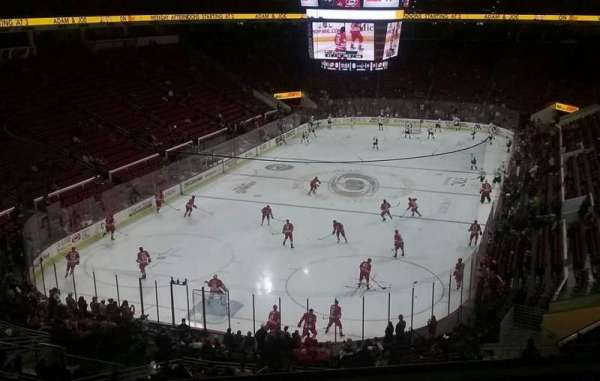 PNC Arena, section: 211, row: D, seat: 8