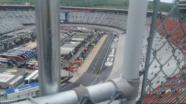 Bristol Motor Speedway, section: Wallace Tower C, row: 1, seat: 1