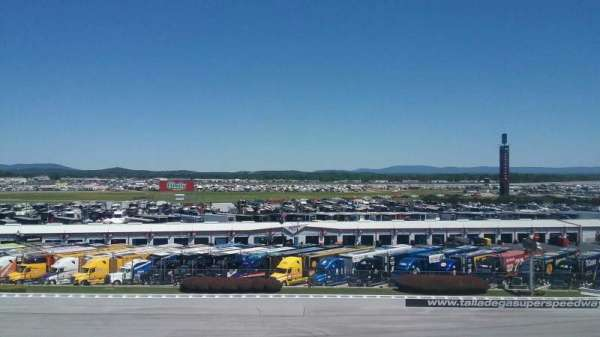 Talladega Superspeedway, section: Anniston Tower E, row: 26, seat: 21