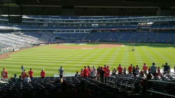 Nationals Park Section 140 Home Of Washington Nationals