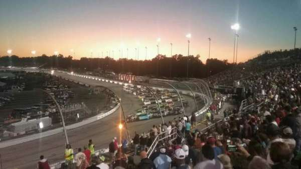 Richmond International Raceway, section: Dogwood I, row: 9, seat: 24