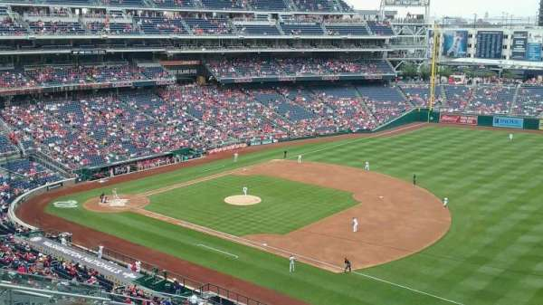 Nationals Park, section: 222, row: N, seat: 12